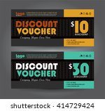 vector illustration. discount... | Shutterstock .eps vector #414729424