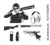vector elements for shooting...   Shutterstock .eps vector #414730690
