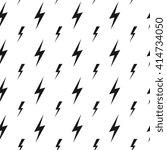 lightning bolts  thunderbolts... | Shutterstock .eps vector #414734050