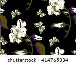 seamless floral pattern. | Shutterstock .eps vector #414765334