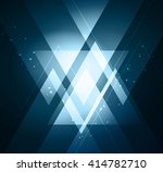 elegant geometric background... | Shutterstock . vector #414782710