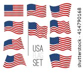 independence day background.... | Shutterstock . vector #414790168