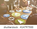 business corporation...   Shutterstock . vector #414797500