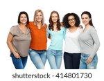 friendship  fashion  body... | Shutterstock . vector #414801730