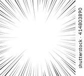 comic books speed lines... | Shutterstock .eps vector #414803890