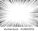 background of radial lines for... | Shutterstock .eps vector #414843553