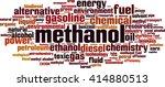 methanol word cloud concept.... | Shutterstock .eps vector #414880513