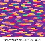 geometric seamless pattern | Shutterstock .eps vector #414891034