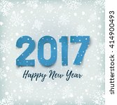 happy new year 2017 background...   Shutterstock .eps vector #414900493
