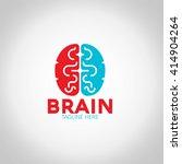 brain logo | Shutterstock .eps vector #414904264