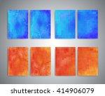 flyer design templates. set of... | Shutterstock . vector #414906079