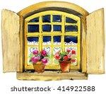 watercolor illustration of...   Shutterstock . vector #414922588