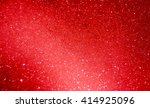 Red Bubble Background With...