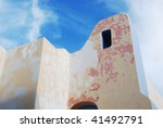 modern mexican architecture and ... | Shutterstock . vector #41492791