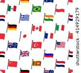 color flags of different... | Shutterstock .eps vector #414929179
