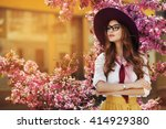 outdoor portrait of young... | Shutterstock . vector #414929380