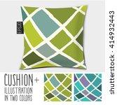 design cushion  pillow . vector ... | Shutterstock .eps vector #414932443