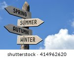 spring  summer  autumn  winter... | Shutterstock . vector #414962620