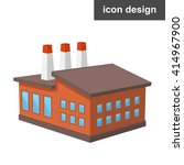 factory ecology business icon   Shutterstock .eps vector #414967900