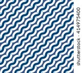 vector geometric seamless... | Shutterstock .eps vector #414975400