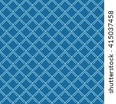 seamless azure blue vintage art ...   Shutterstock .eps vector #415037458