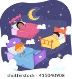 stickman illustration of... | Shutterstock .eps vector #415040908