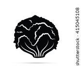 lettuce icon | Shutterstock .eps vector #415045108