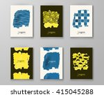 abstract artistic background... | Shutterstock .eps vector #415045288