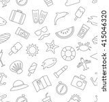 illustration seamless pattern... | Shutterstock . vector #415046320