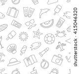 illustration seamless pattern... | Shutterstock . vector #415046320