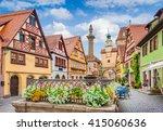 beautiful classic postcard view ... | Shutterstock . vector #415060636
