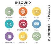 inbound marketing graphic with...