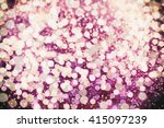 glitter vintage lights... | Shutterstock . vector #415097239