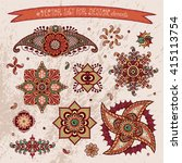 elements for design. vector... | Shutterstock .eps vector #415113754