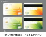 credit cards | Shutterstock .eps vector #415124440