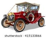 vintage car   Shutterstock .eps vector #415133866