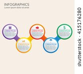 step by step infographics... | Shutterstock .eps vector #415176280