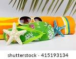 summer concept | Shutterstock . vector #415193134