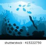 vector illustration of... | Shutterstock .eps vector #415222750