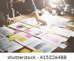 business corporation... | Shutterstock . vector #415226488