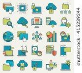 vector illustration of... | Shutterstock .eps vector #415239244