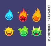 flash game power elements ...