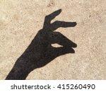 Shadow Hand Puppet Rabbit On...