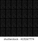 vector. seamless islamic... | Shutterstock .eps vector #415267774