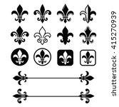Fleur De Lis   French Symbol...