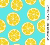 cute seamless pattern with... | Shutterstock . vector #415278124