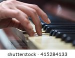 close up detailed view of... | Shutterstock . vector #415284133