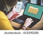 files index content details... | Shutterstock . vector #415290280