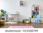positive minimalist and... | Shutterstock . vector #415328749