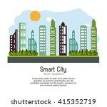 smart city design. social media ...   Shutterstock .eps vector #415352719